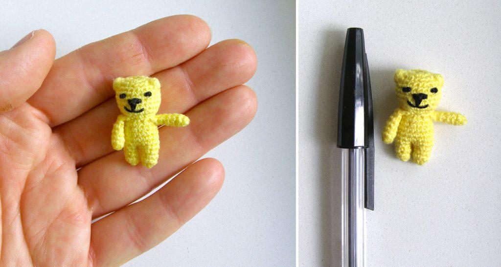 mały żółty miś